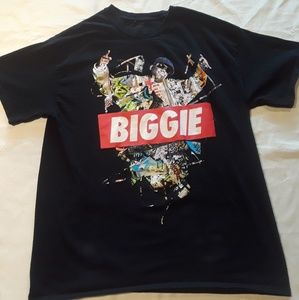 Notorious B.I.G. Abstract Mo Money Tee Shirt